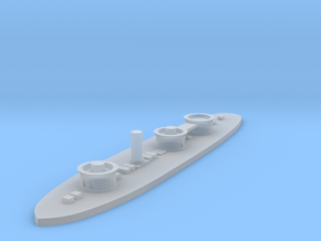 1/1000 USS Roanoke in Smooth Fine Detail Plastic
