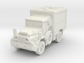 DAF YA 126 Ambulance scale 1/56 in White Natural Versatile Plastic