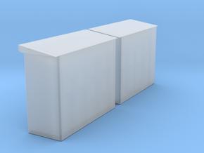 2 x Schaltkasten (Unterstand) mit 11 x Schaltkaste in Smoothest Fine Detail Plastic