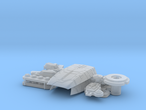 1:1400 USS Defiant pt 3 of 3 in Smooth Fine Detail Plastic