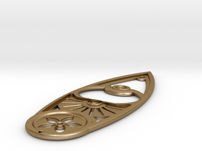 The Leaf: by Flere in Polished Gold Steel