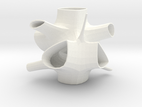 Vorospace Sculpture 2 in White Processed Versatile Plastic