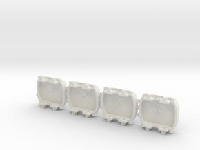 A-1-64-pechot-bogies-1a in White Natural Versatile Plastic