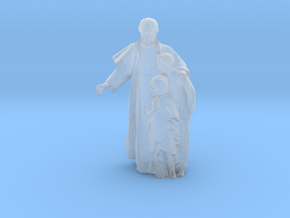Printle C Couple 152 - 1/87 - wob in Smooth Fine Detail Plastic