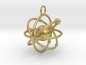 nuclea in Natural Brass
