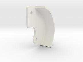 3 Gear Spur Gear Cover in White Natural Versatile Plastic