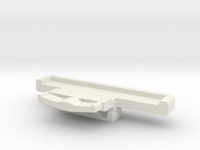 ceramic razor blade wedge HP super narrow in White Natural Versatile Plastic