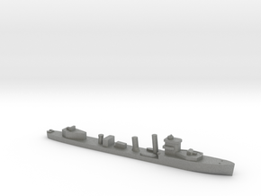 HMS Vega 1:3000 WW2 naval destroyer in Gray PA12