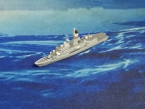 Anzac-class frigate, 1/1800 in White Natural Versatile Plastic