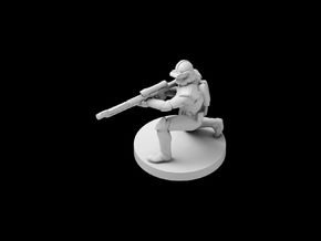 (IA) Clone Sharpshooter Phase 2 in Smooth Fine Detail Plastic