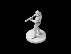 (IA) Clonetrooper Phase 2 5 in Smooth Fine Detail Plastic