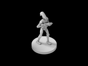 (IA) OOM security Battle Droid 2 in Smooth Fine Detail Plastic