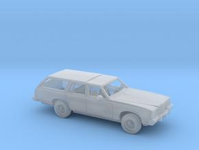 1/160 1977-79 Pontiac  Grand Safari  Wagon Kit in Smooth Fine Detail Plastic