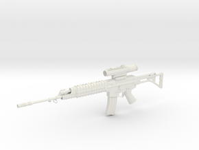 1:6 Miniature SS2-V4 Gun in White Natural Versatile Plastic