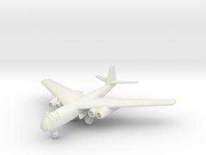 (1:144) Arado Ar 234 Versuchflügel V (wheels down) in White Natural Versatile Plastic