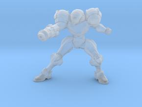 Metroid Samus 1/60 miniature for scifi games rpg 2 in Smooth Fine Detail Plastic