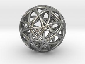 universe akasha memory in Natural Silver (Interlocking Parts)