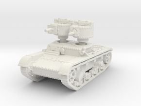 T 26 A 37mm Tank scale 1/100 in White Natural Versatile Plastic