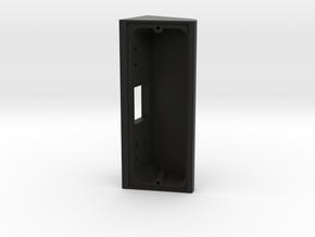 70 Degree Wedge for Newly Re-Designed Ring Doorbel in Black Natural Versatile Plastic