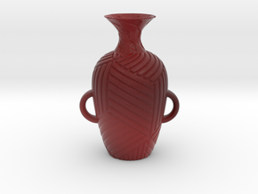 Vase 182Inc in Matte Full Color Sandstone