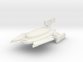 3788 Scale Vudar War Cruiser (CW) MGL in White Natural Versatile Plastic