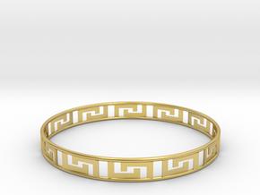 Gentle Bracelet in Polished Brass