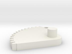 08.01.01.03.03 Elev Trim Follower in White Natural Versatile Plastic