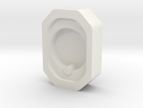 Cryo Box holder for Oxford cryo transfer station in White Natural Versatile Plastic