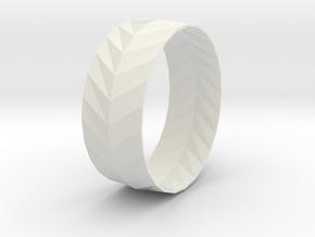 'ARROW' Bracelet  in Smooth Fine Detail Plastic