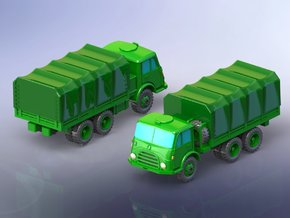 Steyr 680 6x6 Trucks 1/200 in Smooth Fine Detail Plastic