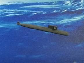 PLA[N] 093B Submarine, 1/1800 in White Natural Versatile Plastic
