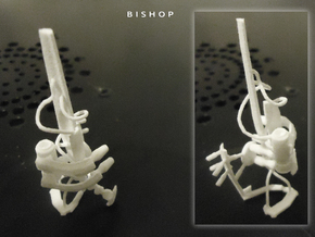 BISHOP in White Natural Versatile Plastic