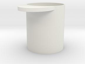 Kaffeemass 50 g Gramm in White Natural Versatile Plastic