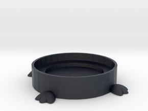 Bird Feet Coaster in Black Professional Plastic
