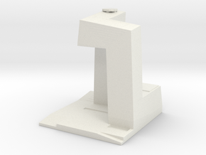 CCTV Headquarters - Beijing (1:4000) in White Natural Versatile Plastic