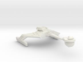 3788 Scale Klingon FD7K Fast Battlecruiser WEM in White Natural Versatile Plastic