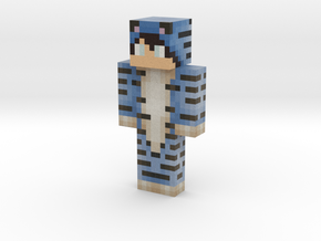 tiger_verse | Minecraft toy in Natural Full Color Sandstone