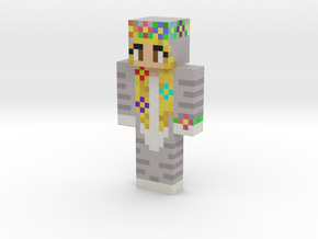 Bubbzie | Minecraft toy in Natural Full Color Sandstone