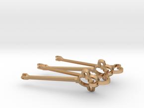 de Winton Eccentric Straps & Rods SM32 in Natural Bronze (Interlocking Parts)