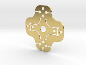 NicNac in Polished Brass