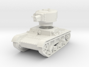 T 26 4 76mm Tank 1/100 in White Natural Versatile Plastic