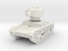 T 26 4 76mm Tank 1/56 in White Natural Versatile Plastic