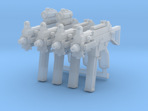 4x UMP45Brick tactical configurations in Smoothest Fine Detail Plastic