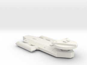 3788 Scale Worb Frigate (FF) MGL in White Natural Versatile Plastic