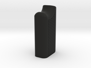 Pump Handle mod2  with hexagon sides in Black Natural Versatile Plastic