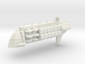 Navy Prison Transport in White Natural Versatile Plastic