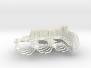 ! - Navy Frigate Shipyard in White Natural Versatile Plastic