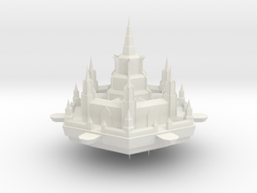Navy Milhex Fortress in White Natural Versatile Plastic