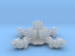 Navy Lance Turret Station in Smooth Fine Detail Plastic