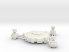Orbital Defence Platform - Missile Battery in White Natural Versatile Plastic
